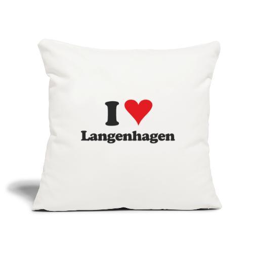 I Love Langenhagen - Sofakissenbezug 44 x 44 cm