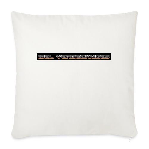 gielverberckmoes shirt - Sierkussenhoes, 45 x 45 cm