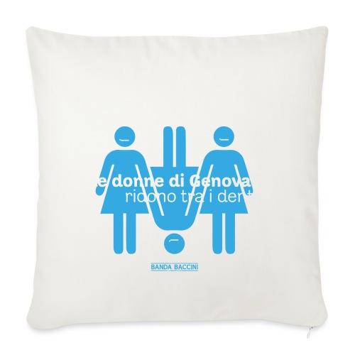 Le donne di Genova. - Copricuscino per divano, 45 x 45 cm