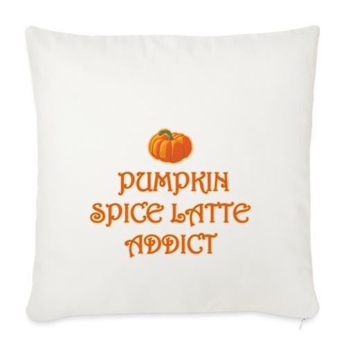 PumpkinSpiceAddict - Copricuscino per divano, 45 x 45 cm