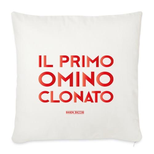Il Primo Omino Clonato. - Copricuscino per divano, 45 x 45 cm