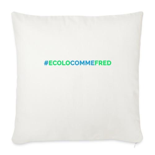 ecolocommefred - Housse de coussin décorative 45x 45cm