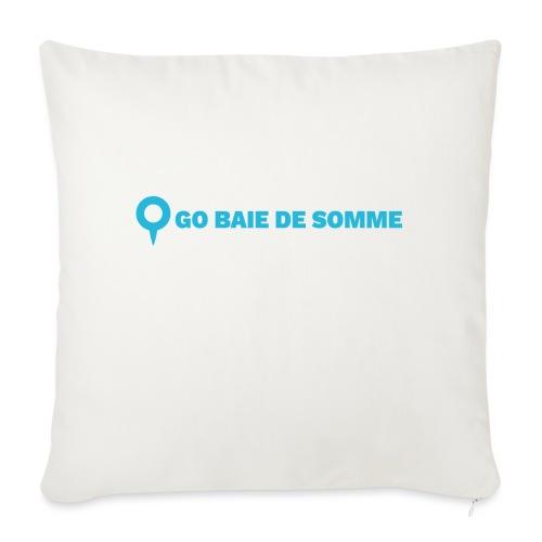 LOGO Go Baie de Somme - Housse de coussin décorative 45x 45cm