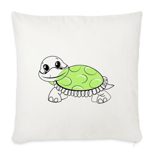 Schildkröte - Sofakissenbezug 44 x 44 cm