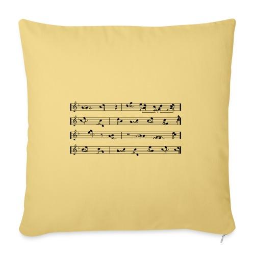 SEX IN MUSIC - Copricuscino per divano, 45 x 45 cm