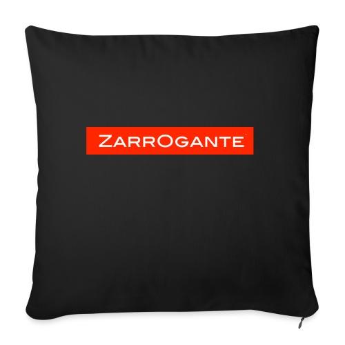 BasicLogoRed - Copricuscino per divano, 45 x 45 cm