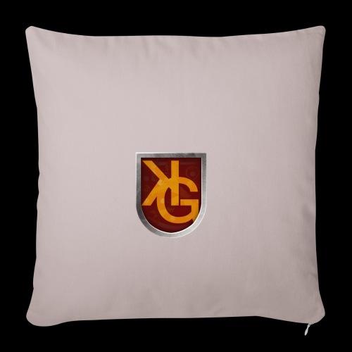 KG logo - Sohvatyynyn päällinen 45 x 45 cm