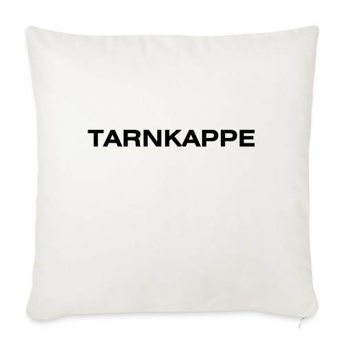 tarnkappe - Sofakissenbezug 44 x 44 cm