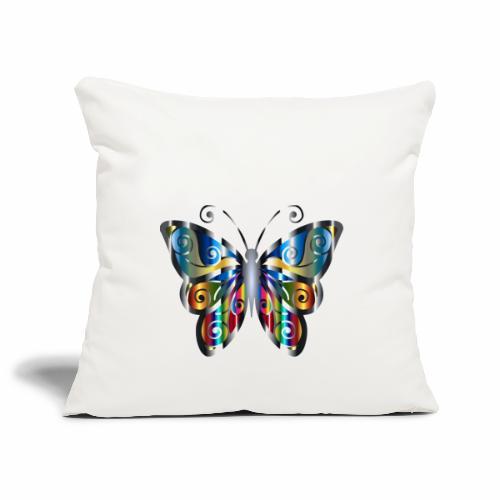 butterfly - Poszewka na poduszkę 45 x 45 cm