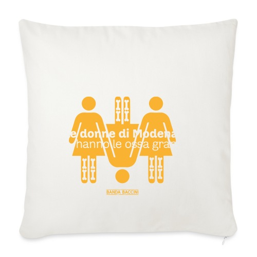Le donne di Modena. - Copricuscino per divano, 45 x 45 cm
