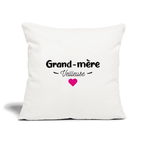 Grand mere veilleuse - Housse de coussin décorative 45x 45cm