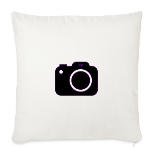 FM camera - Sofa pillowcase 17,3'' x 17,3'' (45 x 45 cm)