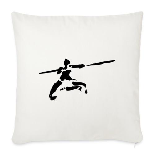 kungfu real ink - Sofa pillowcase 17,3'' x 17,3'' (45 x 45 cm)