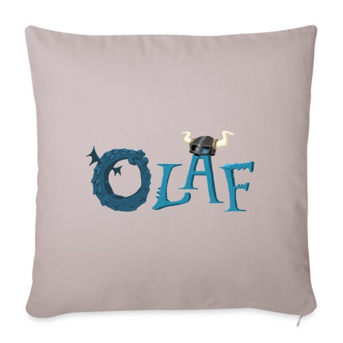 Opera VPN Olaf name - Sofa pillowcase 17,3'' x 17,3'' (45 x 45 cm)