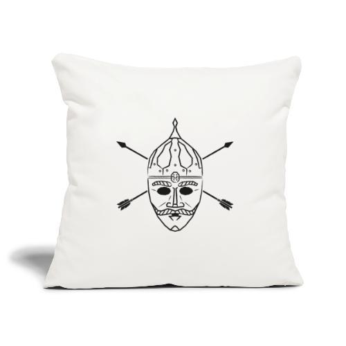 Cuman helmet with arrows - Sofa pillowcase 17,3'' x 17,3'' (45 x 45 cm)