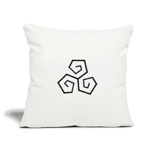 Triskele - Sofa pillowcase 17,3'' x 17,3'' (45 x 45 cm)