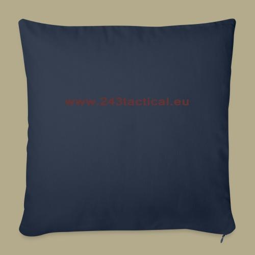.243 Tactical Website - Sierkussenhoes, 45 x 45 cm
