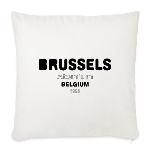 Brussels BELGIUM - Housse de coussin décorative 45x 45cm