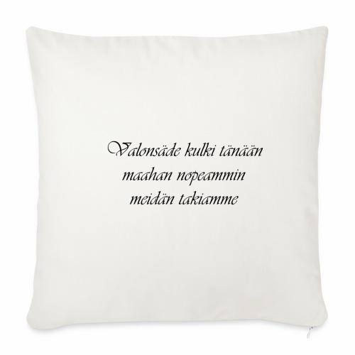 Rakkausruno - Sohvatyynyn päällinen 45 x 45 cm