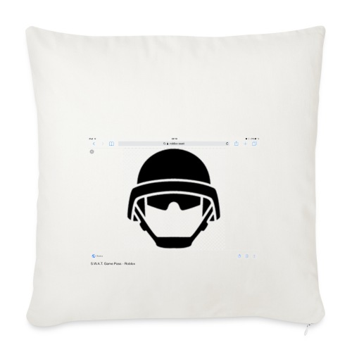 S.W.A.T - Sofa pillowcase 17,3'' x 17,3'' (45 x 45 cm)