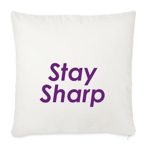 Stay Sharp - Copricuscino per divano, 45 x 45 cm