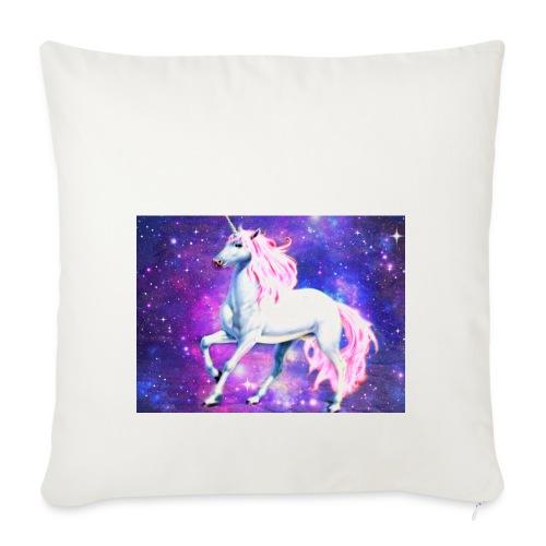 Magical unicorn shirt - Sofa pillowcase 17,3'' x 17,3'' (45 x 45 cm)