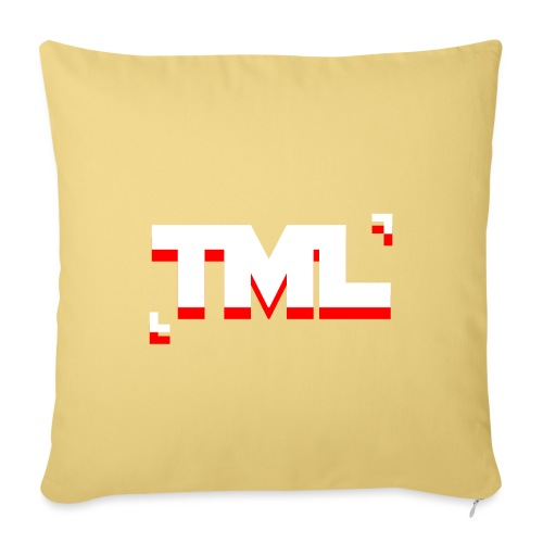 TML RED - Sofa pillowcase 17,3'' x 17,3'' (45 x 45 cm)