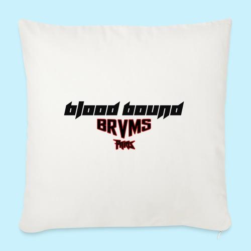 Blood Bound - BRVMS - Paris - Housse de coussin décorative 45x 45cm