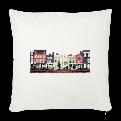 Pretty Dutch town houses - Sofa pillowcase 17,3'' x 17,3'' (45 x 45 cm)