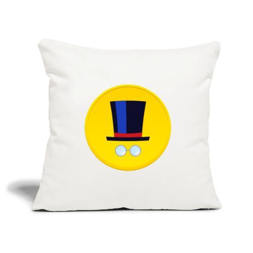 Logo - Copricuscino per divano, 45 x 45 cm