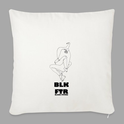 BLK FTR N°7 - Copricuscino per divano, 45 x 45 cm