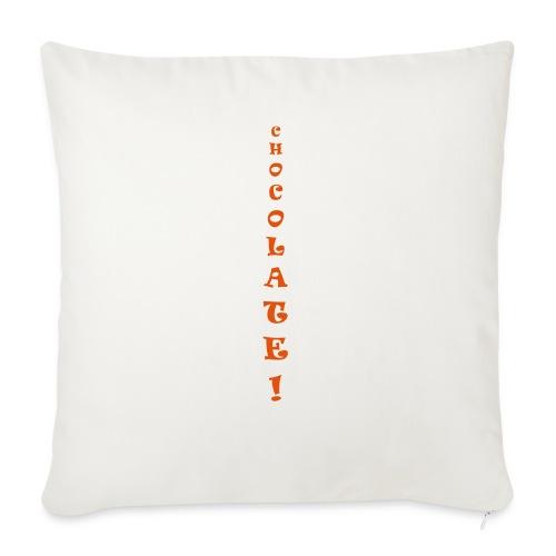 Chocolate - Copricuscino per divano, 45 x 45 cm
