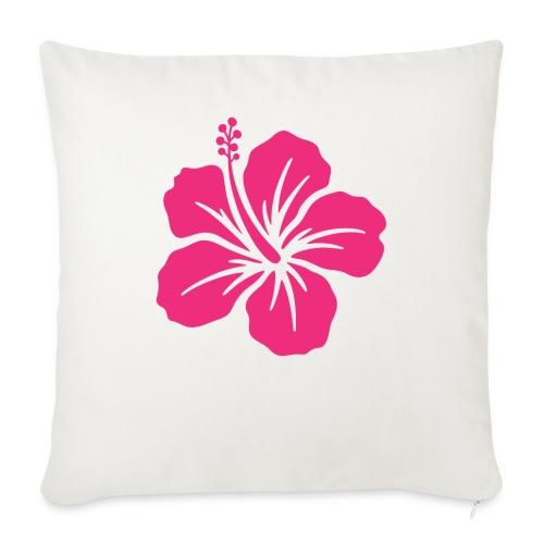 Camisetas, blusas, forros celulares de flor rosada - Funda de cojín, 45 x 45 cm