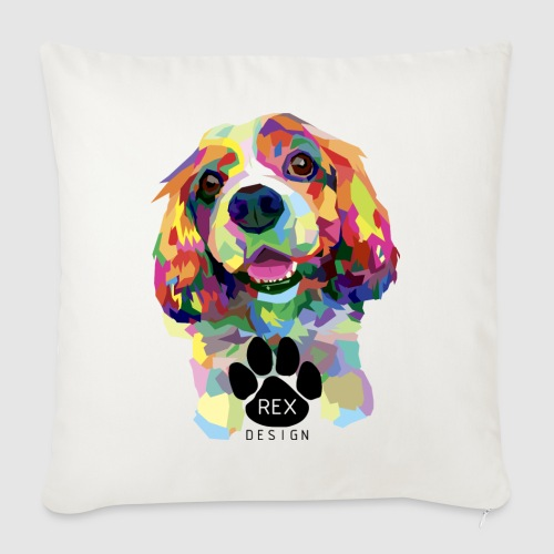 Begging You To Play - Sofa pillowcase 17,3'' x 17,3'' (45 x 45 cm)