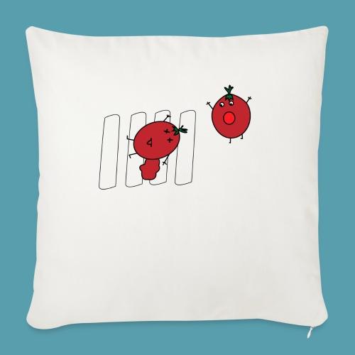 tomaatit - Sohvatyynyn päällinen 45 x 45 cm
