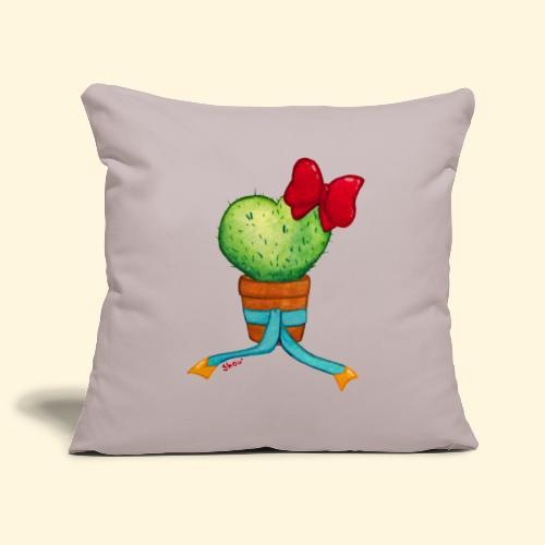 Cactus Coeur - Housse de coussin décorative 44x 44cm