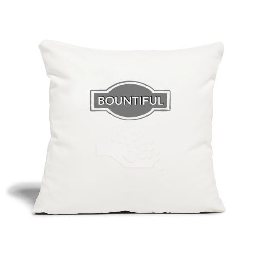 Bontiul gray white - Sofa pillowcase 17,3'' x 17,3'' (45 x 45 cm)