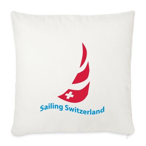 logo sailing switzerland - Sofakissenbezug 44 x 44 cm
