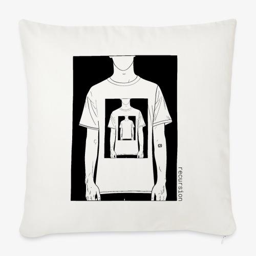 Recursion | Loop | Repeat | Optical illusion - Sofa pillowcase 17,3'' x 17,3'' (45 x 45 cm)