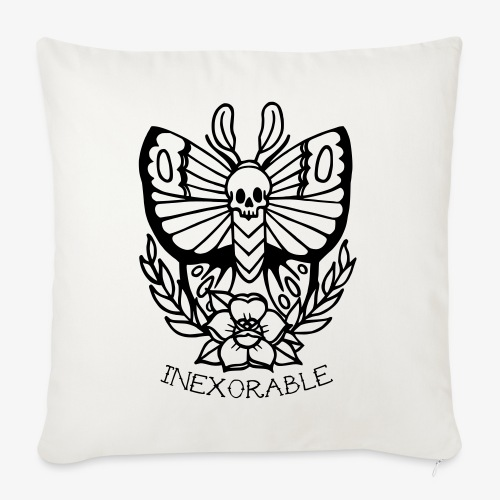Traditional Tattoo Moth - Sofa pillowcase 17,3'' x 17,3'' (45 x 45 cm)