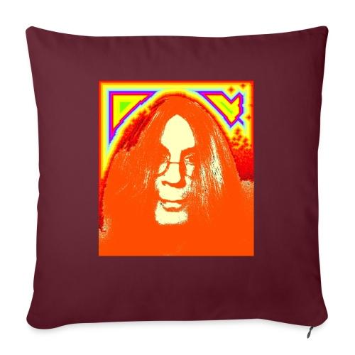 hippie1 - Sofakissenbezug 44 x 44 cm
