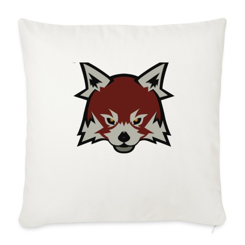 Red panda merch - Sofa pillowcase 17,3'' x 17,3'' (45 x 45 cm)