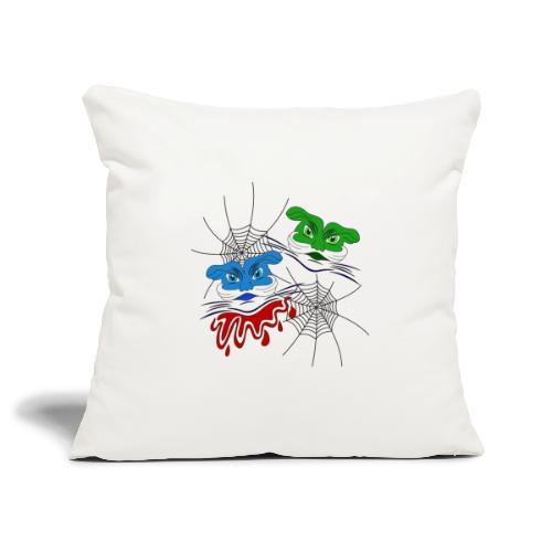 mostri alieni - Copricuscino per divano, 45 x 45 cm