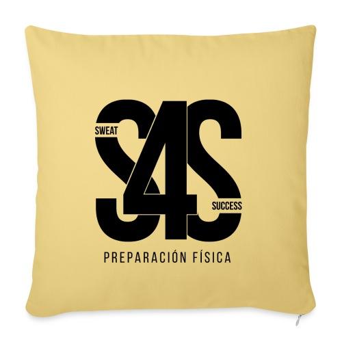 Logo Iniciales Sweat4Success - Funda de cojín, 45 x 45 cm