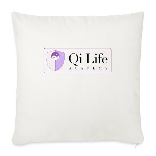 Qi Life Academy Promo Gear - Sofa pillowcase 17,3'' x 17,3'' (45 x 45 cm)