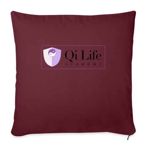Qi Life Academy Promo Gear - Sofa pillowcase 17,3'' x 17,3'' (45 x 45 cm)