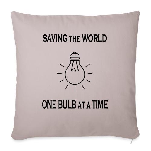 One bulb at a time - Sohvatyynyn päällinen 45 x 45 cm
