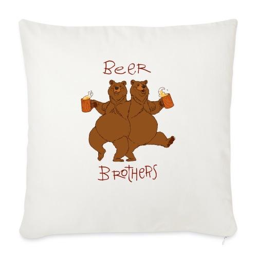 BEER BROTHERS - Poszewka na poduszkę 45 x 45 cm