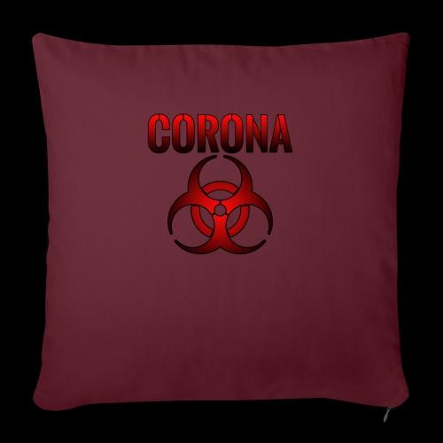 Corona Virus CORONA Pandemie - Sofakissenbezug 44 x 44 cm