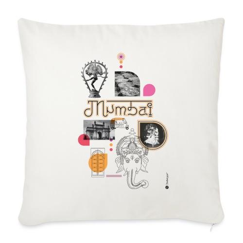 MUMBAI - Housse de coussin décorative 45x 45cm